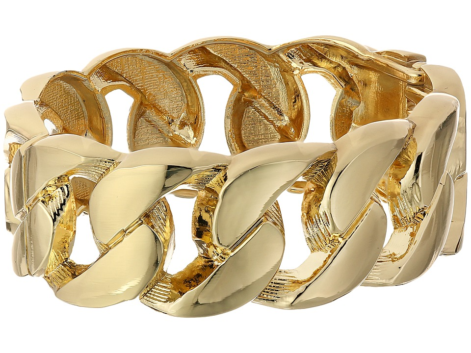 Kenneth Jay Lane - 1106BPG Bracelet (Polished Gold) Bracelet