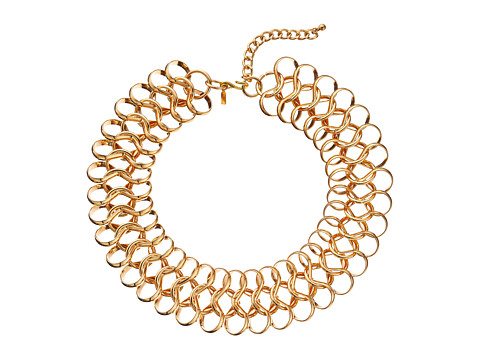 Kenneth Jay Lane - 5597NPG Necklace (Polished Gold) Necklace