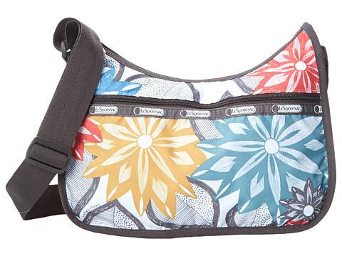LeSportsac - Classic Hobo Bag (Caraway Floral Light) Cross Body Handbags