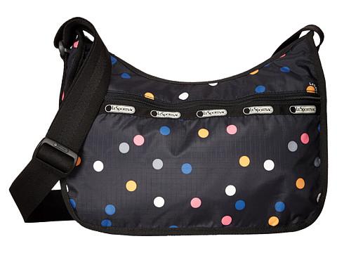 LeSportsac - Classic Hobo Bag (Litho Dot) Cross Body Handbags