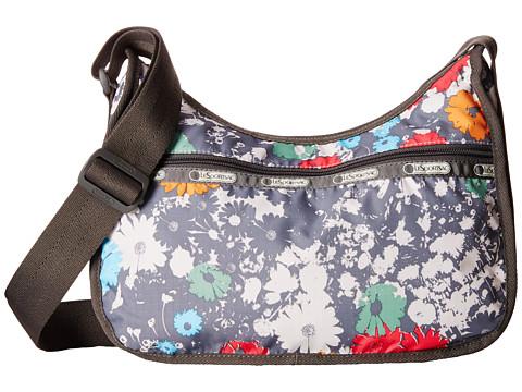 LeSportsac - Classic Hobo Bag (Chroma Flower) Cross Body Handbags