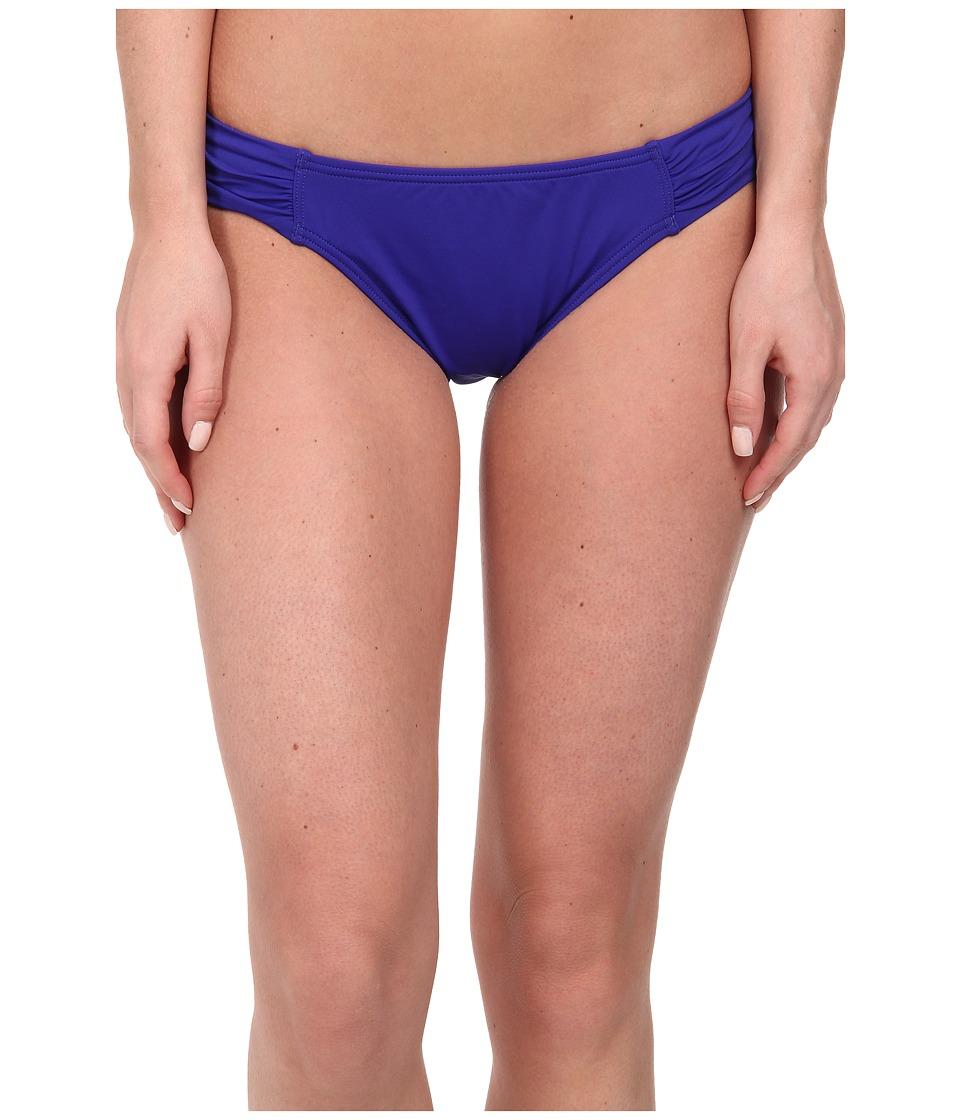 Tommy Bahama - Pearl Side Shirred Hipster (Danubio Blue) Women's Swimwear