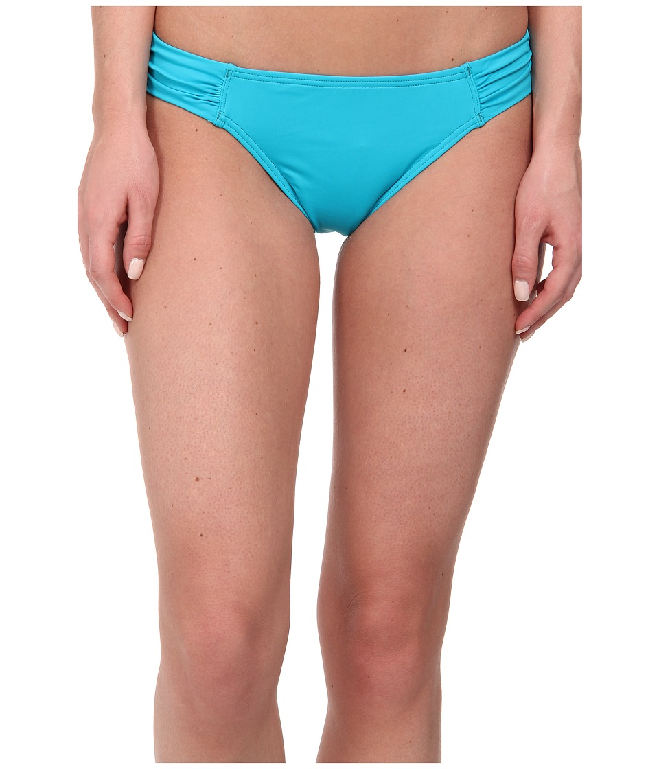 Tommy Bahama - Pearl Side Shirred Hipster (Seaside Green) Women's Swimwear