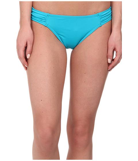 Tommy Bahama - Pearl Side Shirred Hipster (Seaside Green) Women's Swimwear