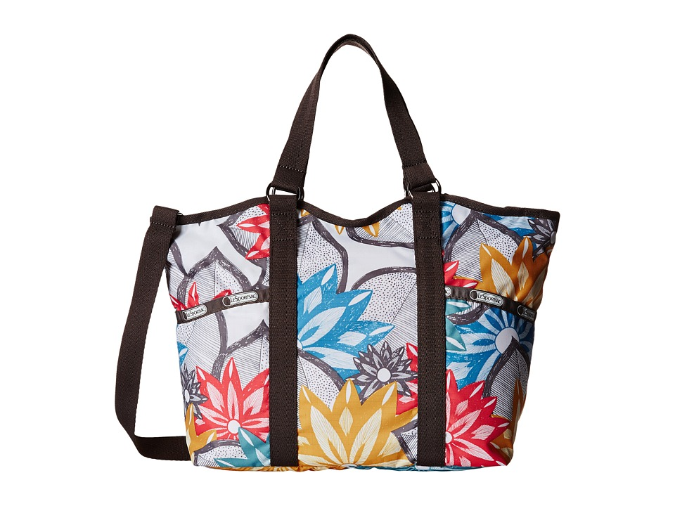 LeSportsac - Small Carryall (Caraway Floral Light) Handbags