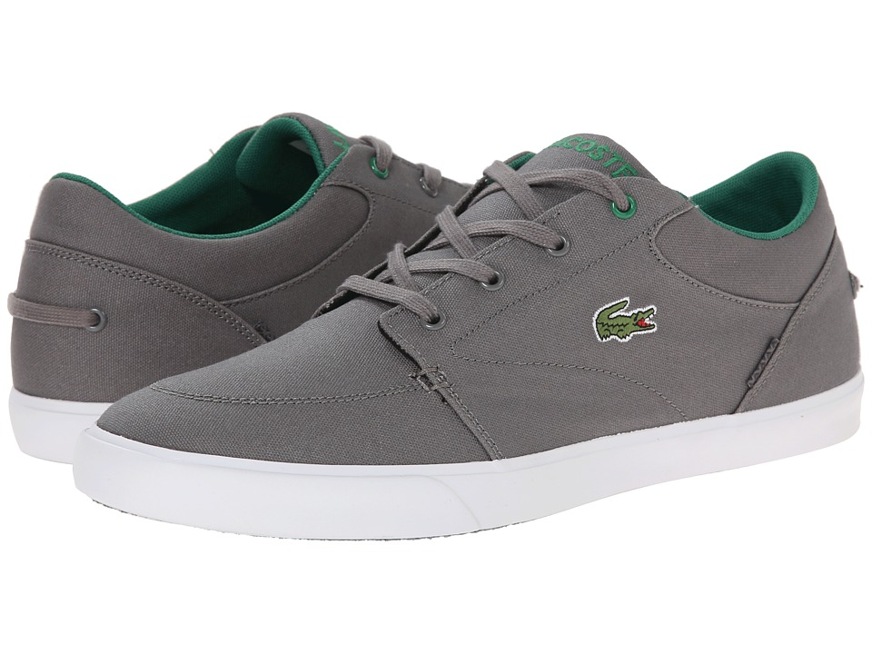 Lacoste - Bayliss (Dark Grey/Green) Men's Shoes