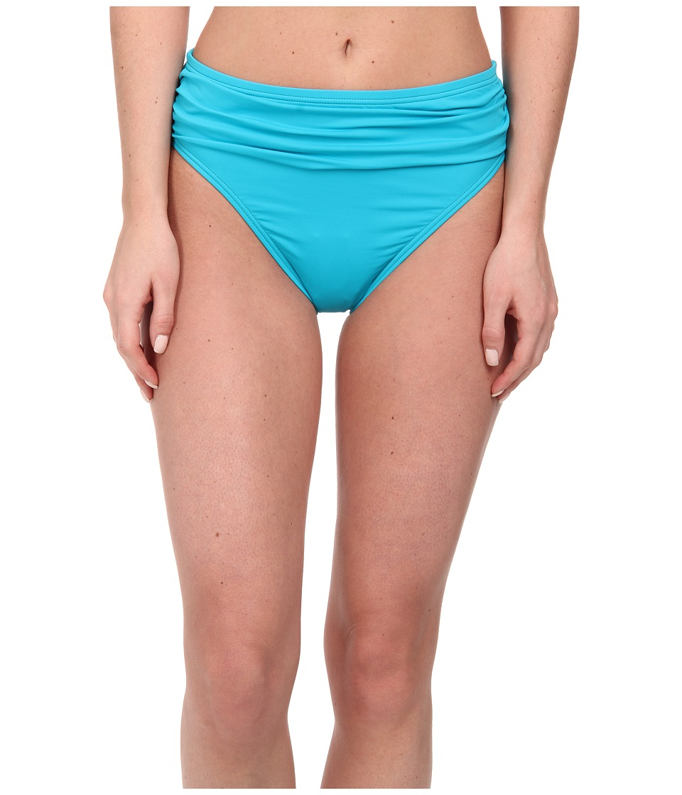 Tommy Bahama - Pearl High Waist Sash Pants (Seaside Green) Women's Swimwear