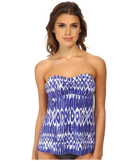 Tommy Bahama - Tie-Dye A-Line Bandini (Danubio Blue/White) Women's Swimwear