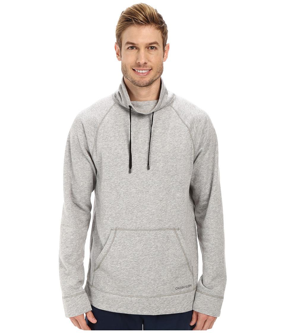 Calvin Klein Underwear - Soft Lounge Pullover (Heather Grey) Men's Clothing