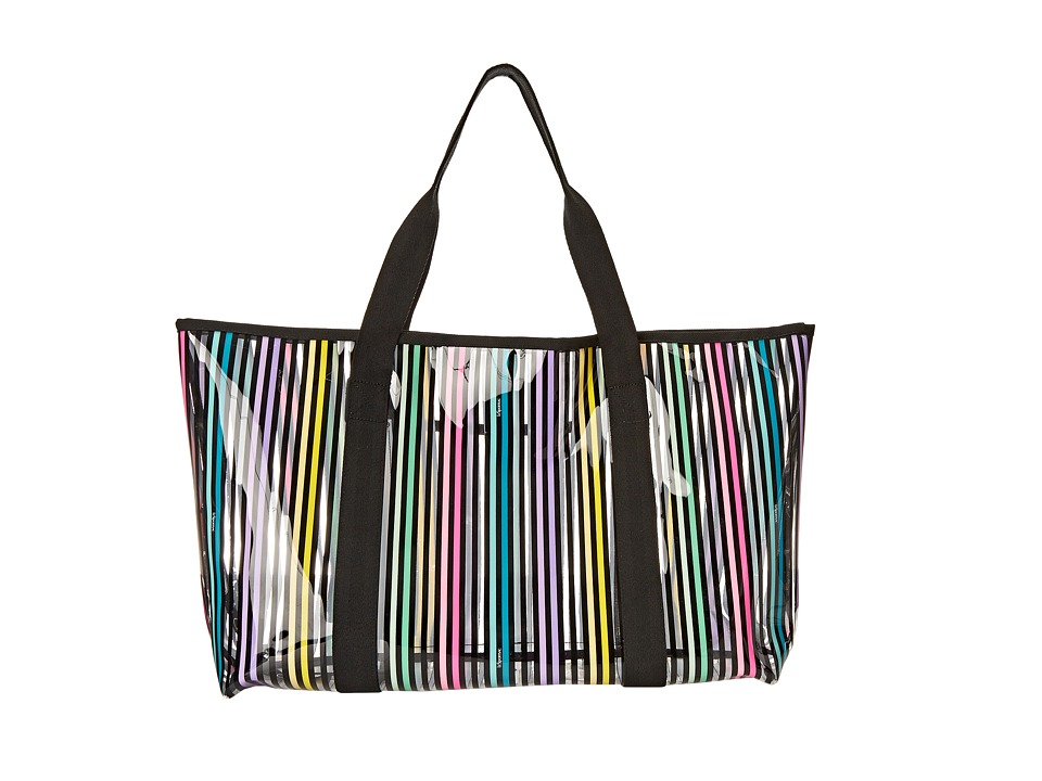 LeSportsac - Clear Haven Tote (Lestripe Clear) Tote Handbags