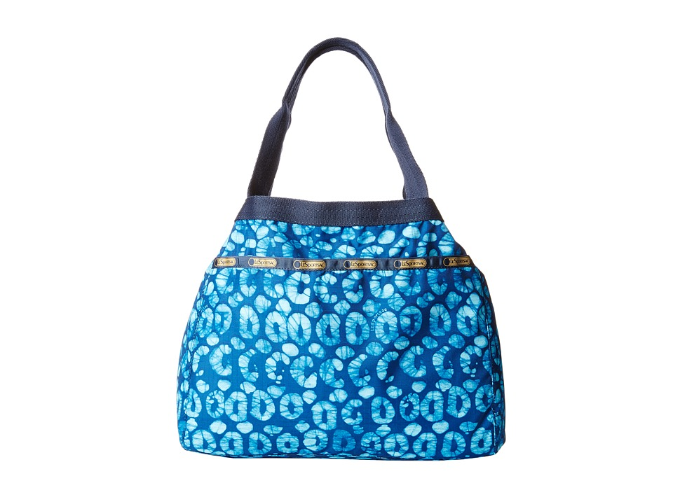 LeSportsac - Small Reversible Beach Tote (Tulum Reversible) Tote Handbags