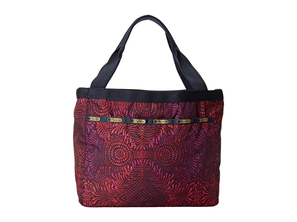 LeSportsac - Small Reversible Beach Tote (Bali Reversible) Tote Handbags