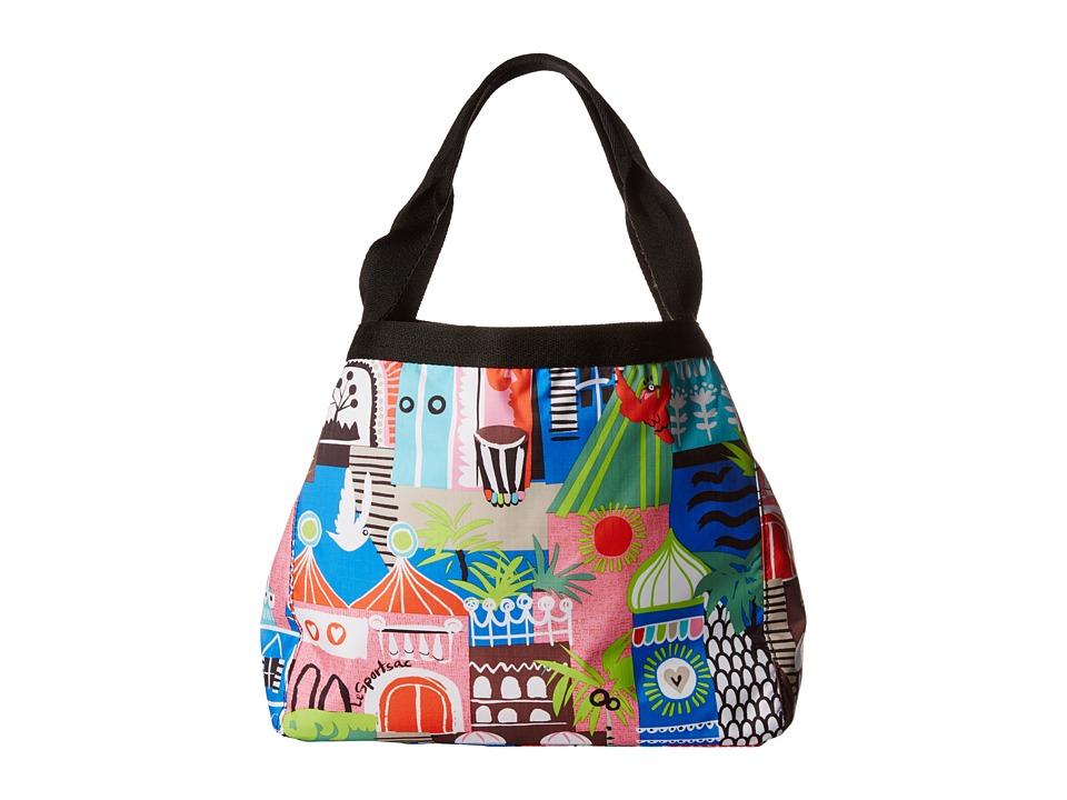 LeSportsac - Small Reversible Beach Tote (ST. Barts Reversible) Tote Handbags