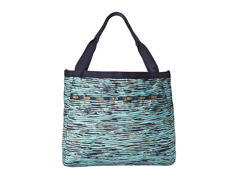 LeSportsac - Reversible Beach Tote (Gold Coast Reversible) Tote Handbags