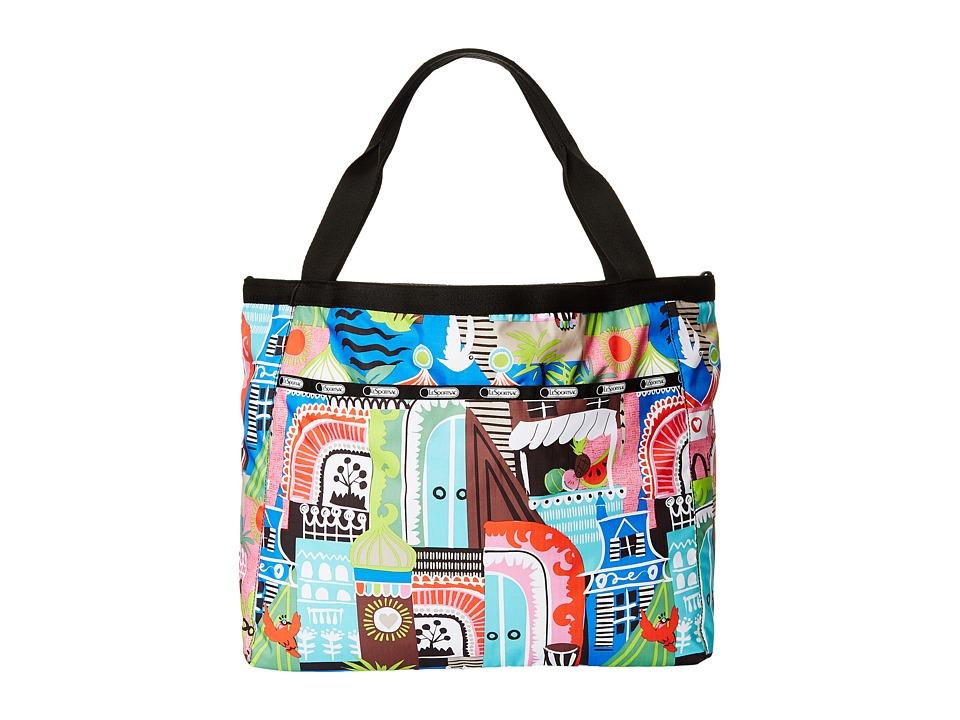 LeSportsac - Reversible Beach Tote (ST. Barts Reversible) Tote Handbags