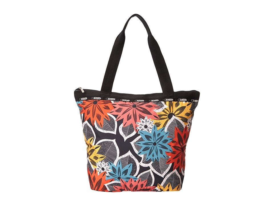 LeSportsac - Hailey Tote (Caraway Floral) Tote Handbags