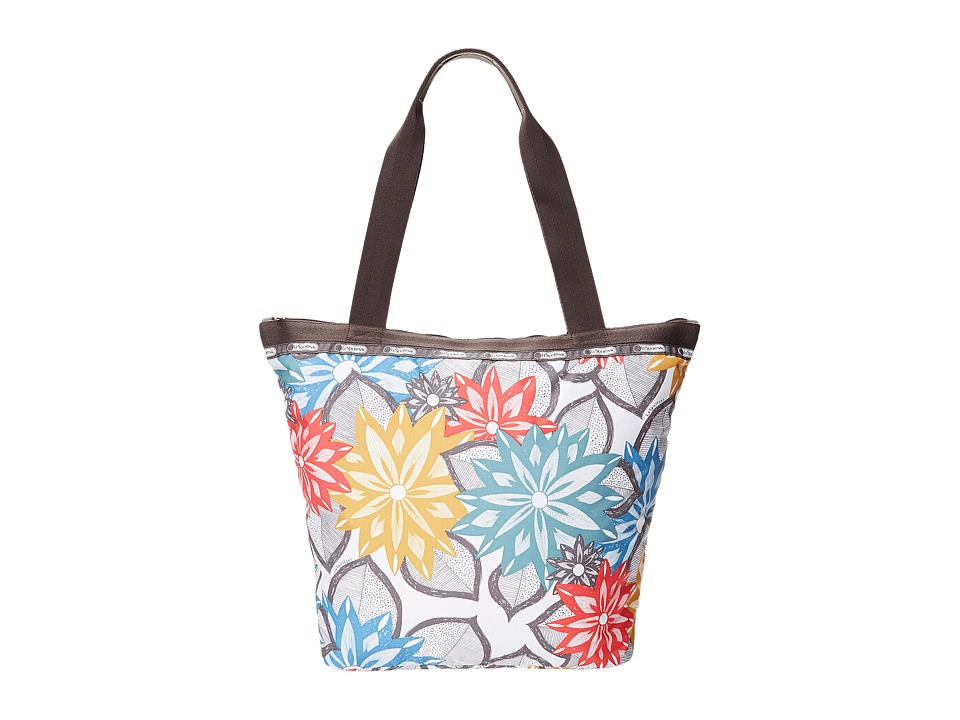 LeSportsac - Hailey Tote (Caraway Floral Light) Tote Handbags