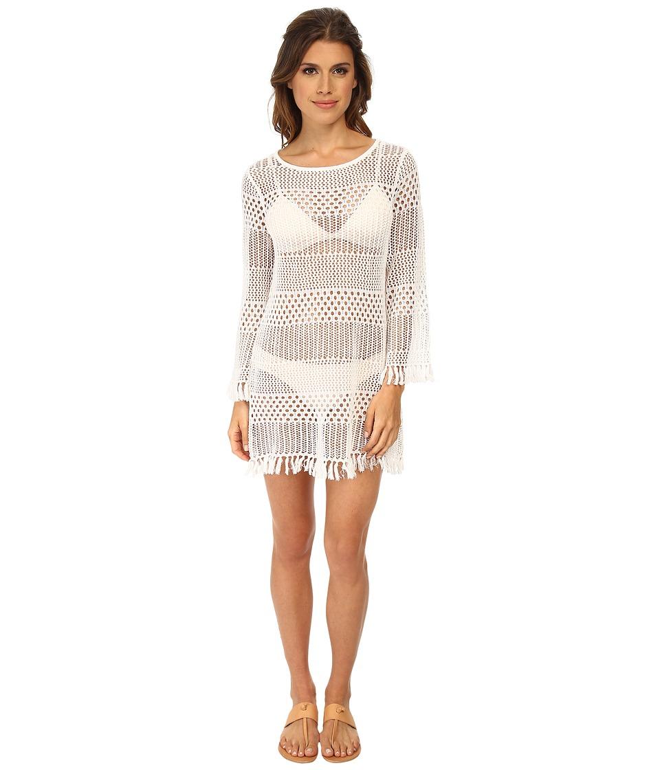 Tommy Bahama - Tassel Beach Sweater Cover-Up (White) Women