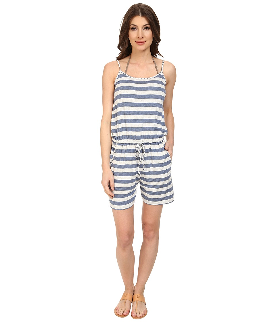 Tommy Bahama - Rayon/Spandex Short Romper Cover-Up (Heather Danubio) Women's Jumpsuit & Rompers One Piece