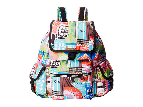 LeSportsac - Voyager Backpack (ST. Barts) Backpack Bags