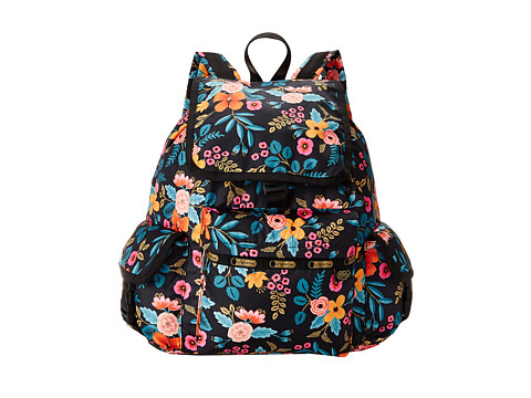 LeSportsac - Voyager Backpack (Marion Floral) Backpack Bags