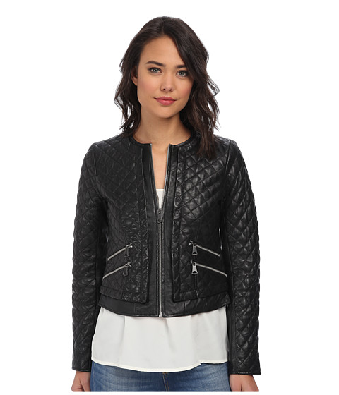 Marc New York by Andrew Marc - Sandie 20 Quilted Jacket (Black) Women's Coat
