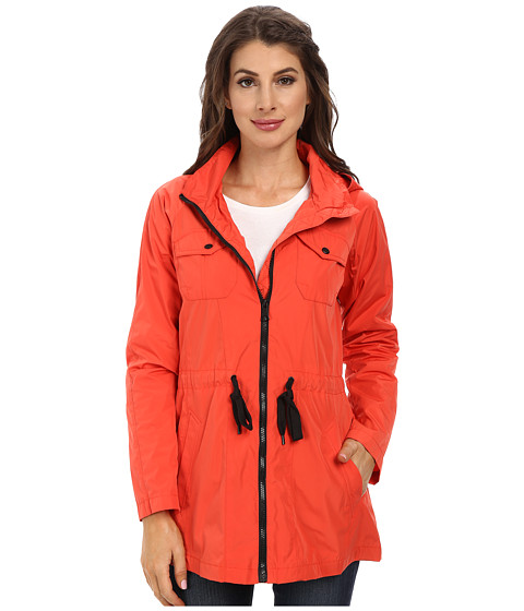Marc New York by Andrew Marc - Tibby 31 Rain Parka (Flame) Women