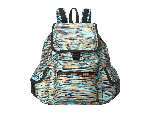 LeSportsac - Voyager Backpack (Gold Coast) Backpack Bags