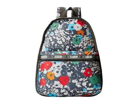 LeSportsac - Basic Backpack (Chroma Flower) Backpack Bags