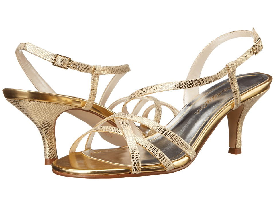 Caparros Theresa (Gold Lizard) High Heels