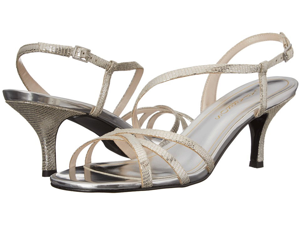 Caparros - Theresa (Silver Lizard) High Heels