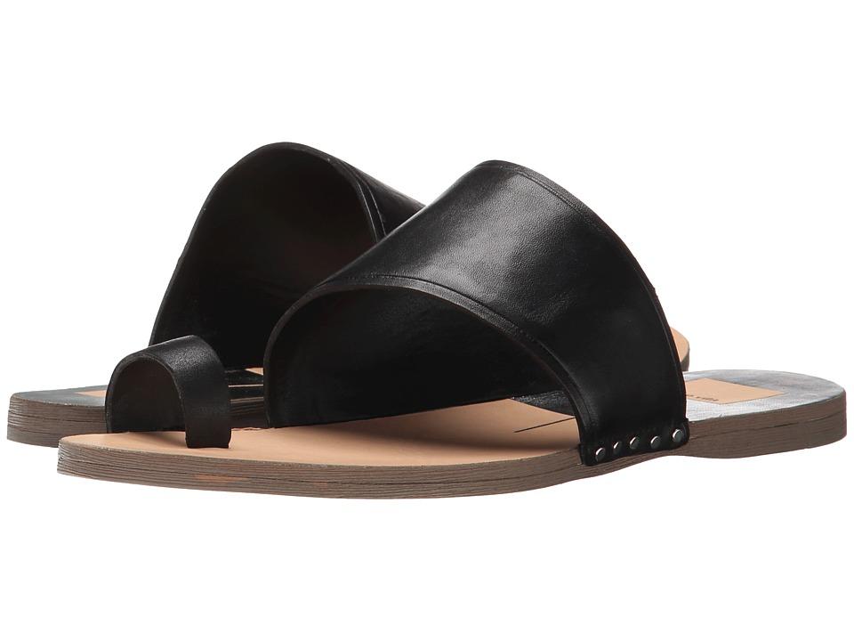 Dolce Vita - Venetia (Black Leather) Women's Sandals