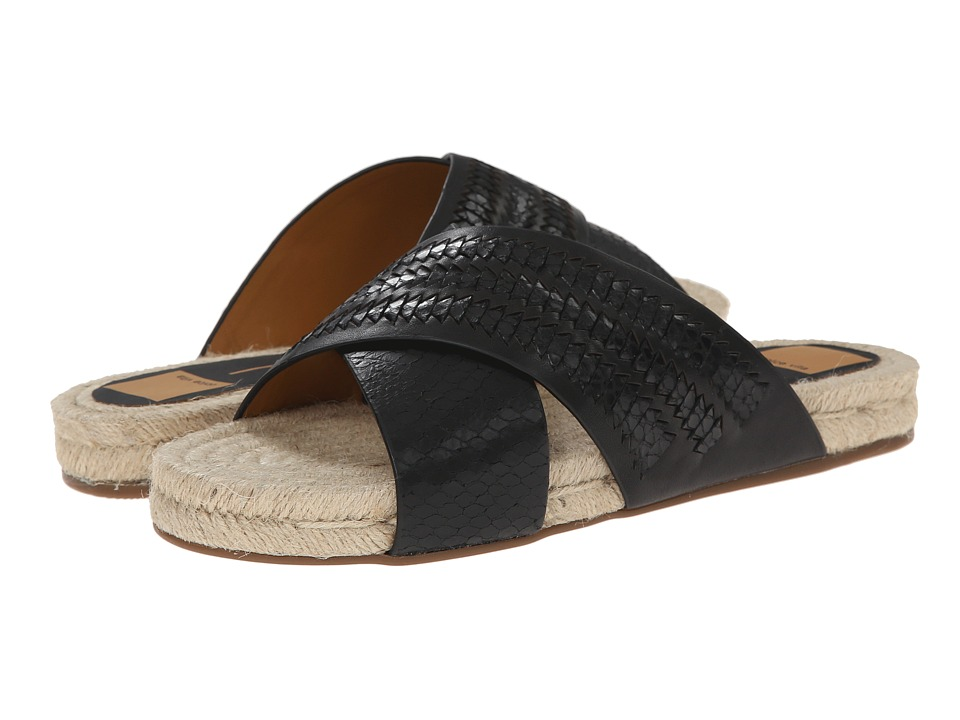Dolce Vita - Genivee 2 (Black Snake Leather) Women's Sandals