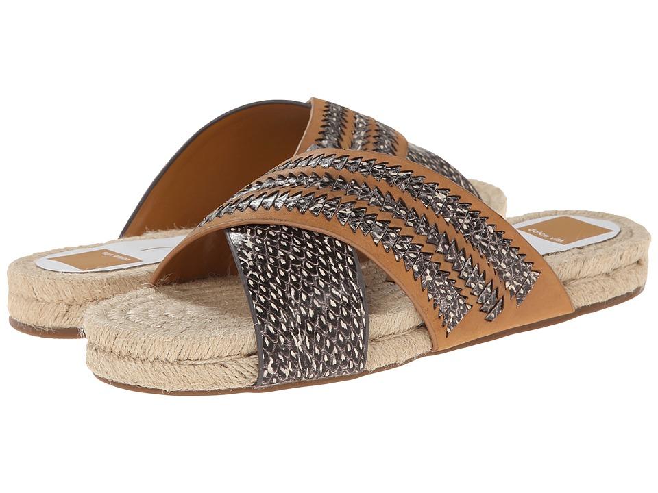Dolce Vita - Genivee 2 (Caramel Snake Leather) Women's Sandals
