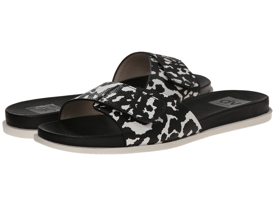 Dolce Vita - Bricen (Black/White Lizard Embossed Stella) Women