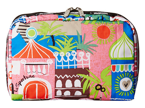 LeSportsac - Extra Large Rectangular Cosmetic (ST. Barts) Cosmetic Case