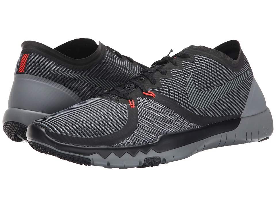Nike - Free Trainer 3.0 V4 (Black/Cool Grey) Men's Cross Training Shoes