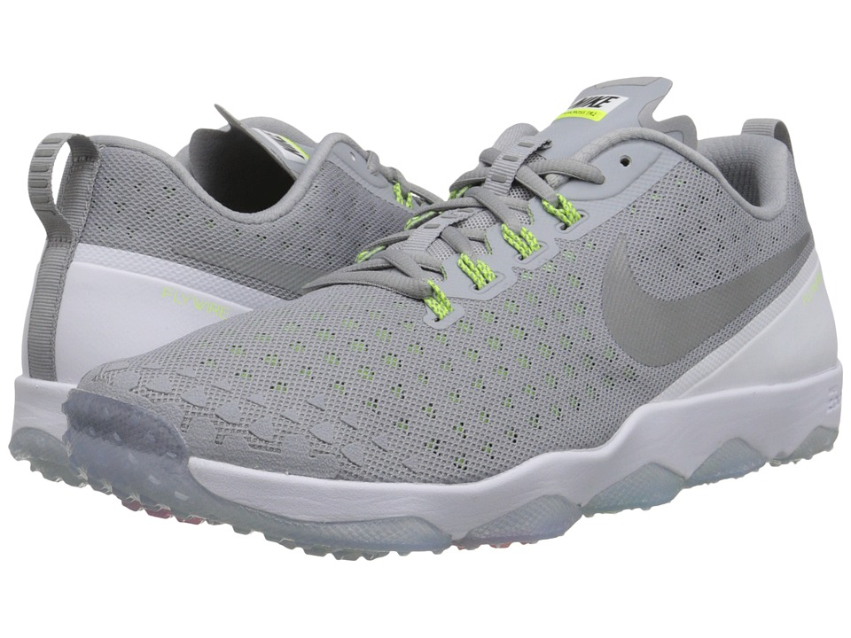 Nike - Zoom Hypercross TR2 (Wolf Grey/White/Volt/Metallic Silver) Men's Cross Training Shoes
