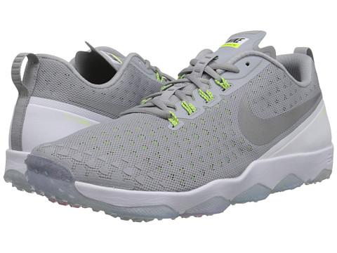 Nike - Zoom Hypercross TR2 (Wolf Grey/White/Volt/Metallic Silver) Men's Cross Training Shoes