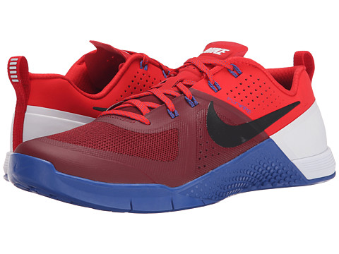 Nike - Metcon 1 (Team Red/University Red/White/Black) Men