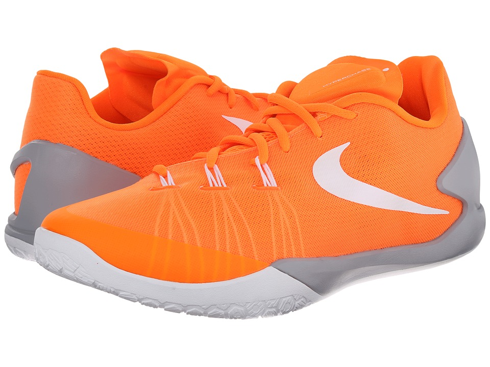 Nike - Hyperchase (Total Orange/Wolf Grey/White) Men's Basketball Shoes