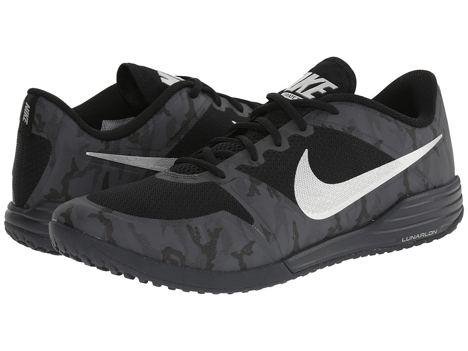 Nike - Lunar Ultimate TR Premium (Black/Dark Grey/Metallic Silver) Men