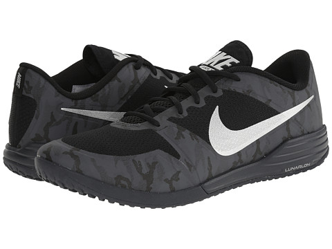 Nike - Lunar Ultimate TR Premium (Black/Dark Grey/Metallic Silver) Men's Cross Training Shoes
