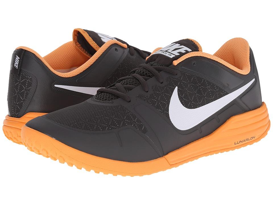 Nike - Lunar Ultimate TR (Deep Pewter/Total Orange/White) Men's Cross Training Shoes