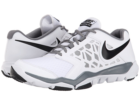 Nike - Flex Supreme TR 4 (White/Cool Grey/Black) Men's Cross Training Shoes