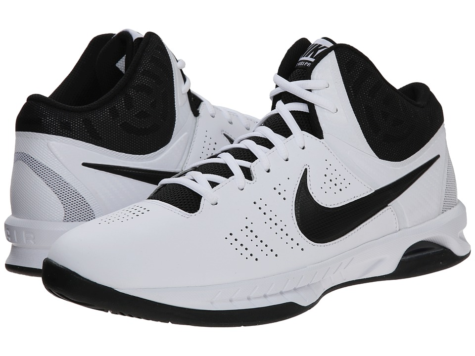 Nike - Air Visi Pro VI (White/Cool Grey/Black) Men's Basketball Shoes