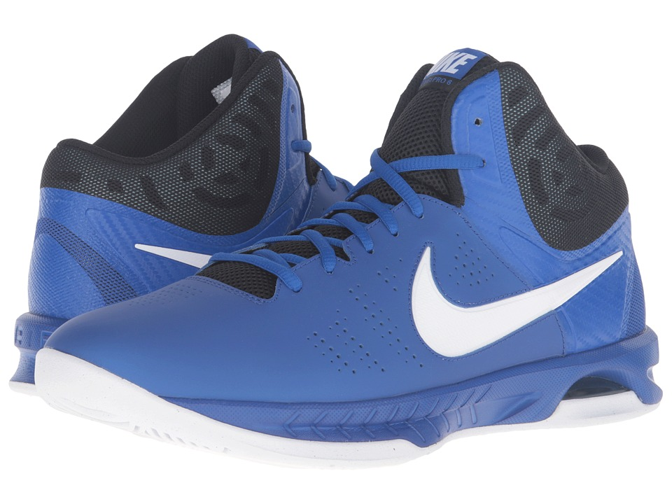 Nike - Air Visi Pro VI (Game Royal/Black/Photo Blue/White) Men's Basketball Shoes