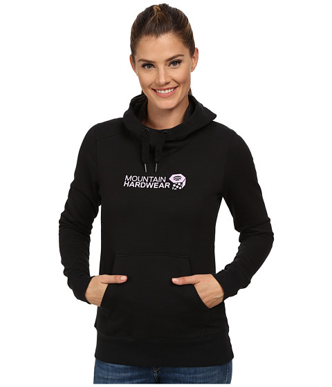 Mountain Hardwear - Graphic Logo Pullover Hoodie (Black) Women's Sweatshirt