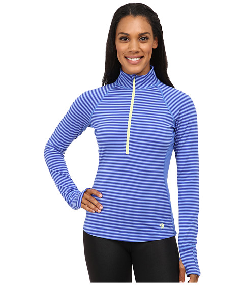 Mountain Hardwear - Butterlicious Long Sleeve 1/2 Zip Top (Bright Bluet) Women