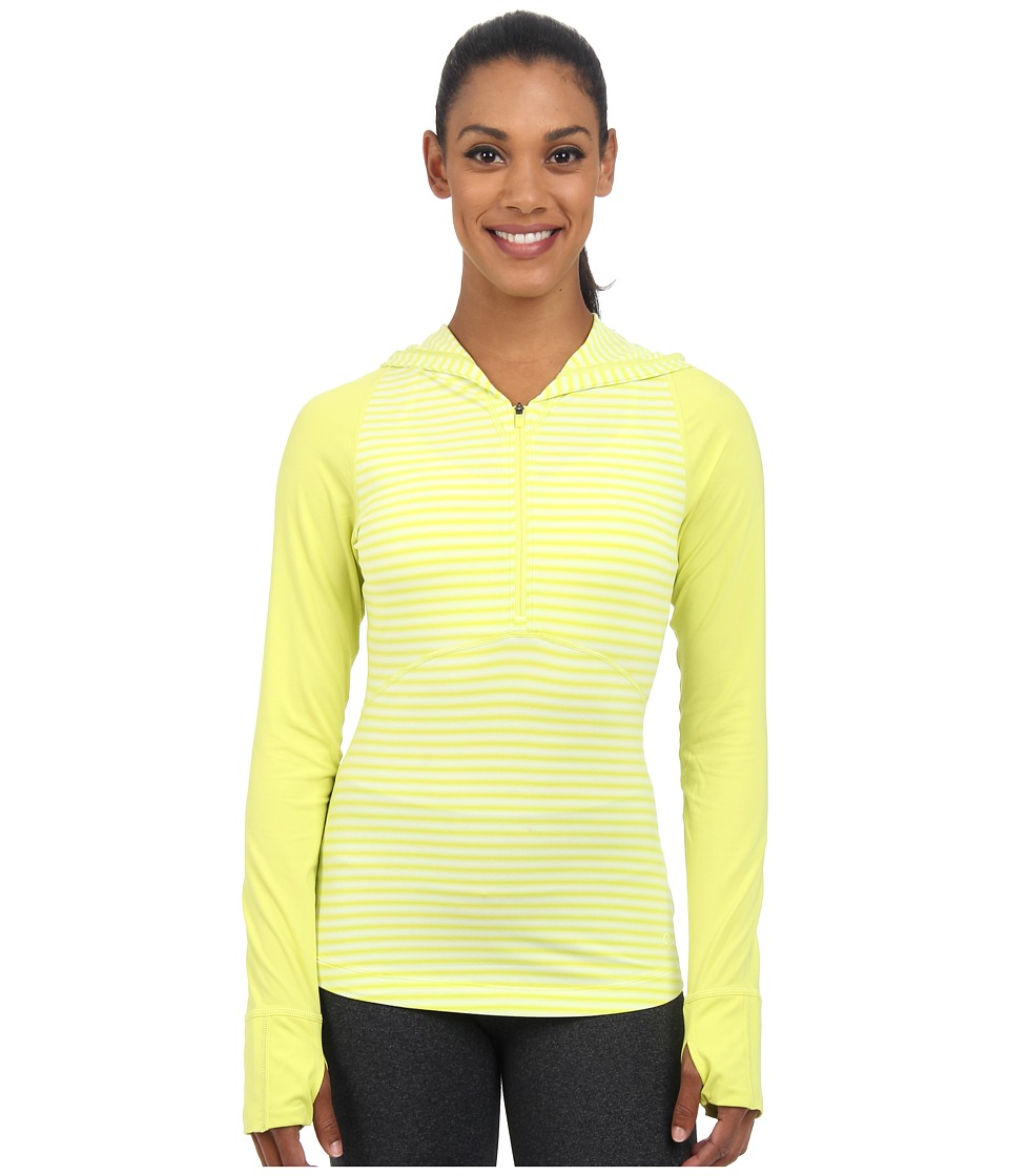 Mountain Hardwear - Butterlicious Long Sleeve Hoodie (Bolt) Women